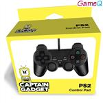 Captain Gadget Dual Shock Wired Gamepad  PS2