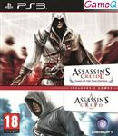 Assassin's Creed 1 + 2 (Double Pack)  PS3